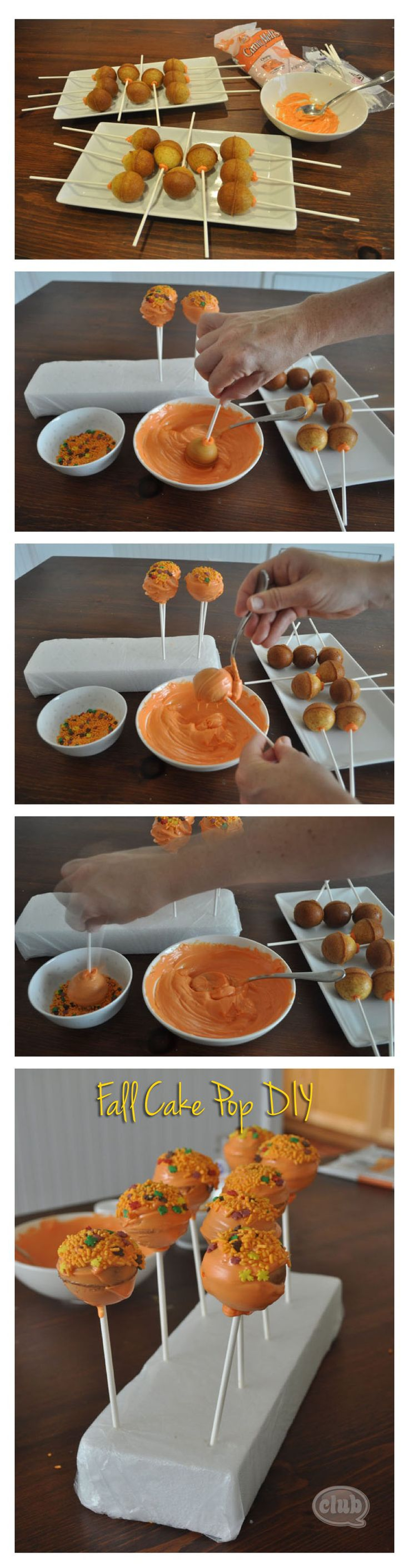 Tips and Techniques for using a Cake Pop Pan to make Fall Cake Pops | Tween Craft Ideas for Mom and Daughter