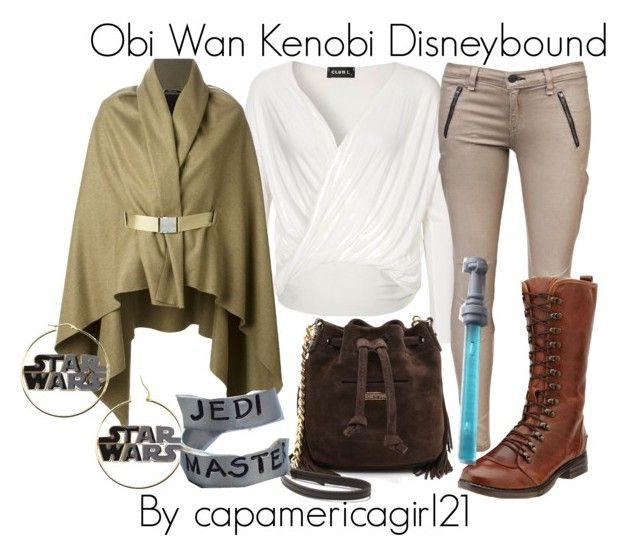 Obi Wan Kenobi Disneybound by capamericagirl21 on Polyvore featuring Maison Margiela, rag & bone, Bed|Stu and Elizabeth and James