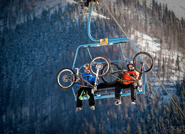 Jasna snowbike downhill by kulsecko, via Flickr