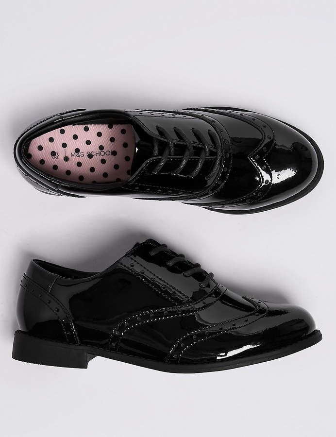 Marks and Spencer Kids Leather Brogue