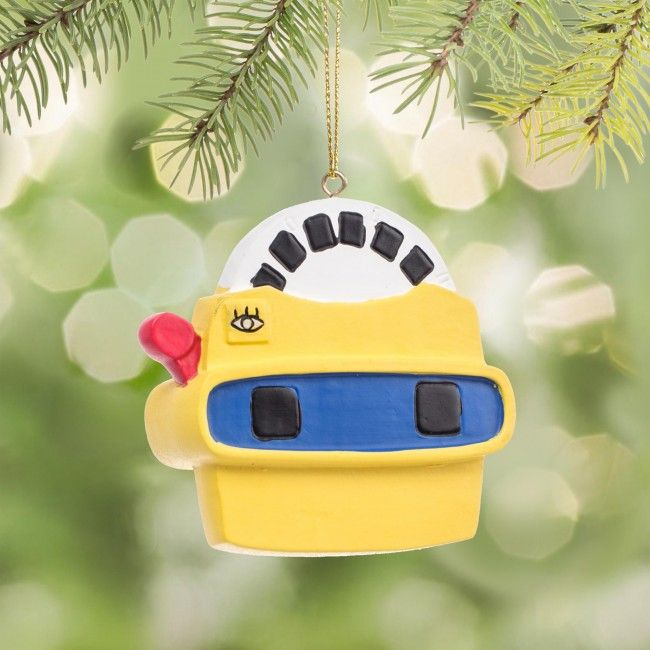 Not going to find a virtual reality system under the tree this year? Put these ornaments of the original virtual reality device on the tree.