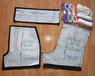 EL BAÚL DE LAS COSTURERAS: Short personalizado y de cintura alta