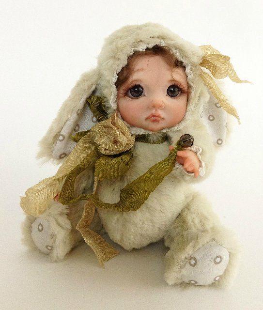 Тедди-долл Louise, Laura и Gloria. Авторские тедди-долл от Анны Добряковой / Изготовление авторских кукол своими руками, ООАК / Бэйбики. Куклы фото. Одежда для кукол