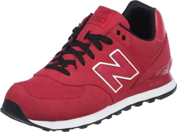 Chaussures New Balance ML574 Pour Homme - coloris: rouge