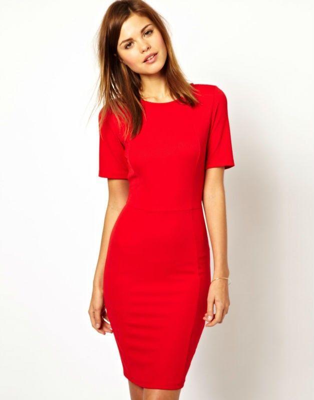 Vestidos para gorditas » Vestidos rojos para señoras 3