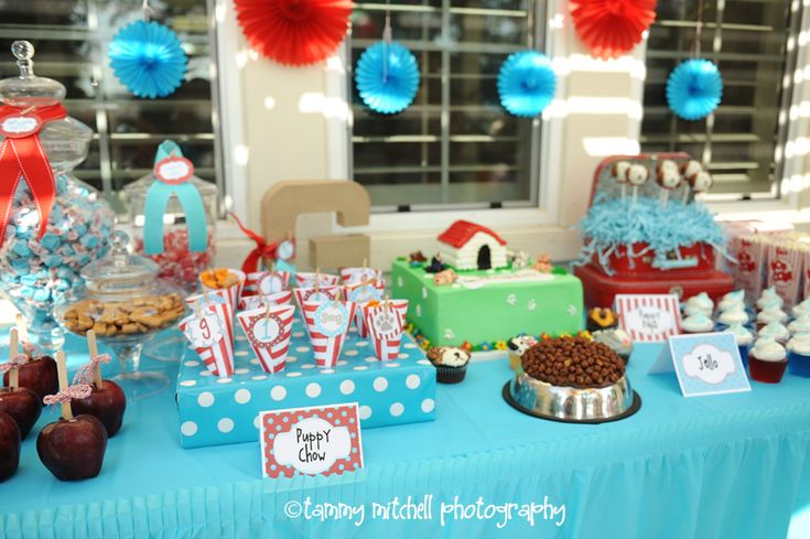Animal Themed Parties: The Puppy Party - Entertain | Fun DIY Party Craft Ideas