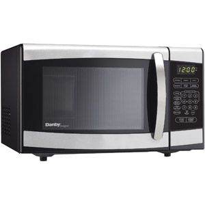 Danby 0.7-cu ft Countertop Microwave, Stainless Steel  Thinking of getting this for my dorm room