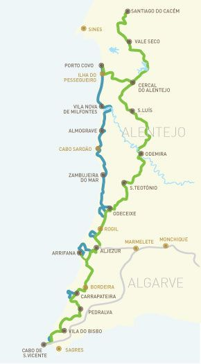 Rota Vicentina - walking the south west coast of Portugal