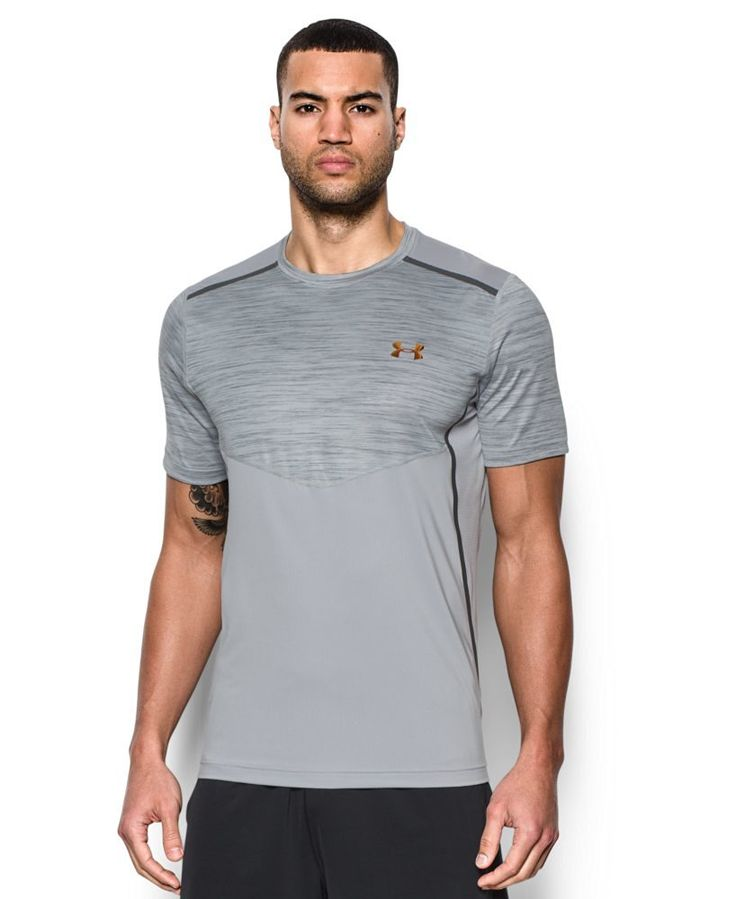 Under Armour Men's UA CoolSwitch T-Shirt. UA CoolSwitch uses an exclusive coating on the inside that pulls heat away from your skin, making you actually feel cool & able to perform longer. Mesh back & underarm panels deliver strategic ventilation 4-way stretch fabrication allows greater mobility in any direction Moisture Transport System wicks sweat.