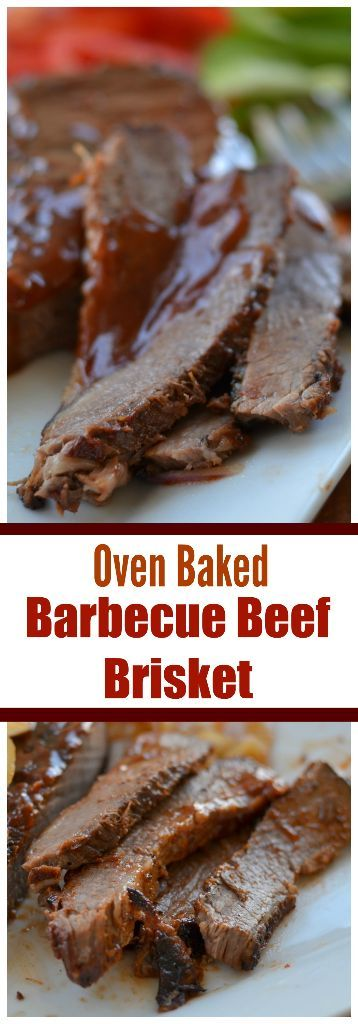 This Oven Baked Barbecue Beef Brisket is a combination of sweet onions, barbecue sauce, a little beer and a few easy seasonings that you probably have on hand.