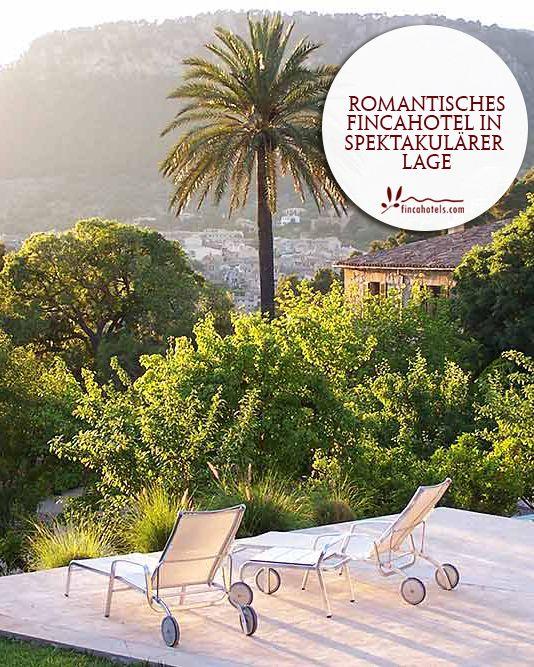 Mirabo de Valldemossa - Mallorca: Romantic fincahotel in a spectacular location. Romantisches Fincahotel in spektakulärer Lage.