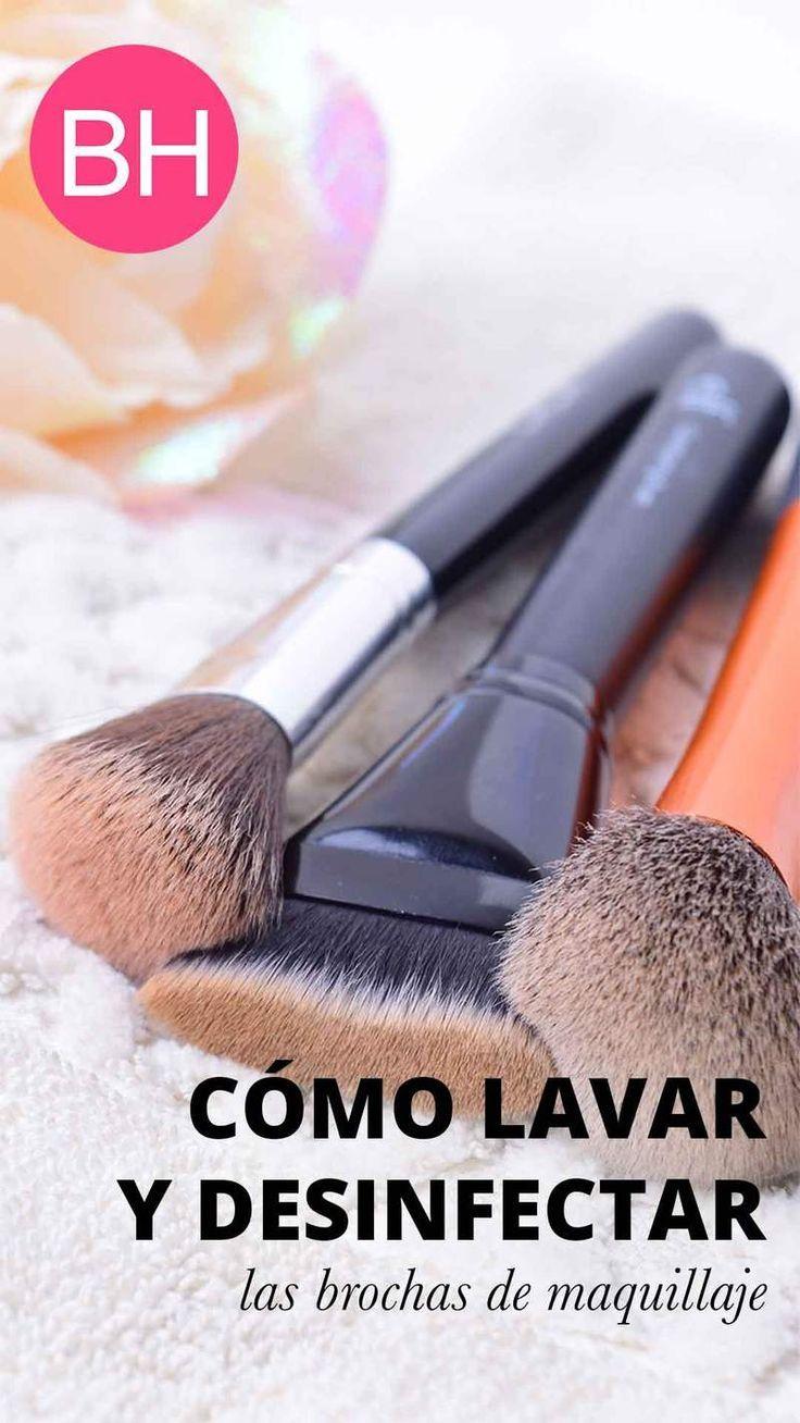 Cómo Lavar Y Desinfectar Las Brochas De Maquillaje Profesional - http://makeupaccesory.com/como-lavar-y-desinfectar-las-brochas-de-maquillaje-profesional/