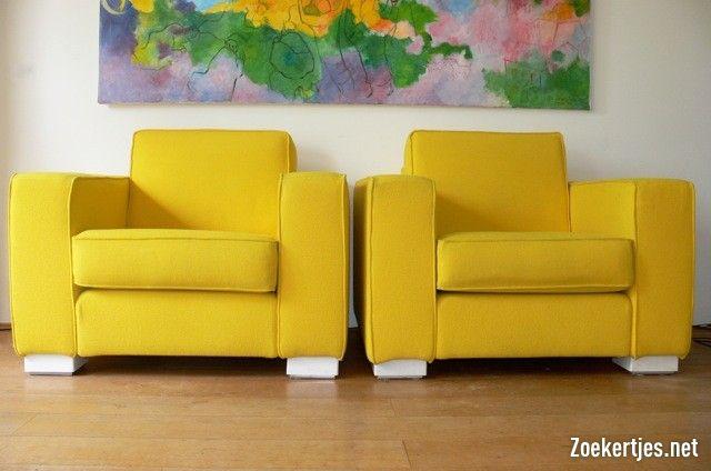 Tweedehands te koop: Jan des Bouvrie ontworpen fauteuils: Gelderland ...