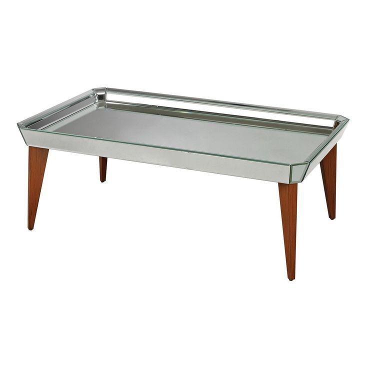 $693.00 Sterling Industries Mide Century Mirrored Coffee Table