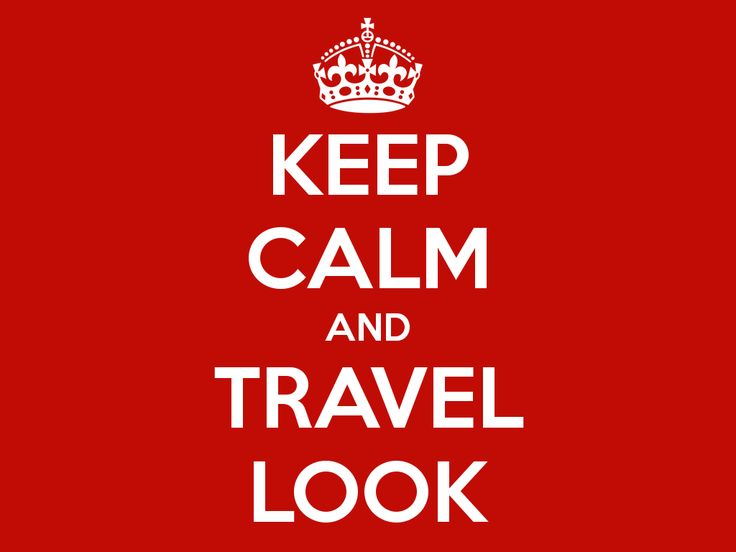 #keepcalm, #travellook, #travel