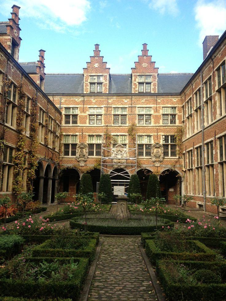 #courtyard#museum plantyn moretius#antwerp#