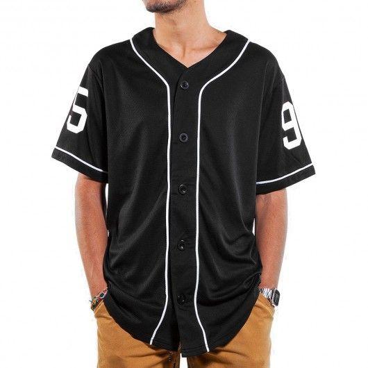 WRUNG Homerun maillot de baseball black white 49,00 € #skate #skateboard #skateboarding #streetshop #skateshop @playskateshop
