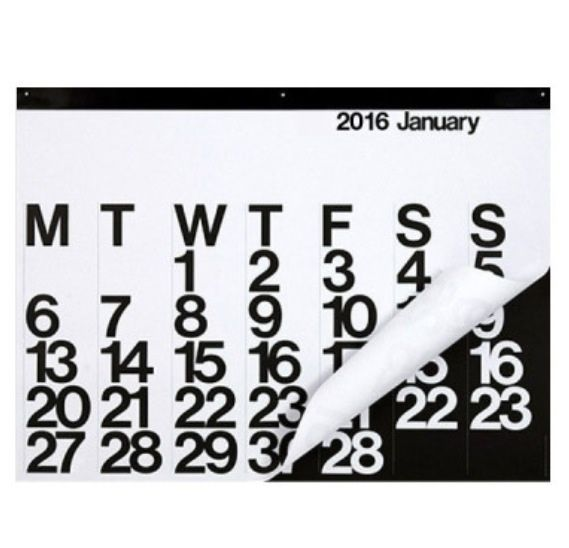 The 2016 Stendig Calendar / Available to buy now x