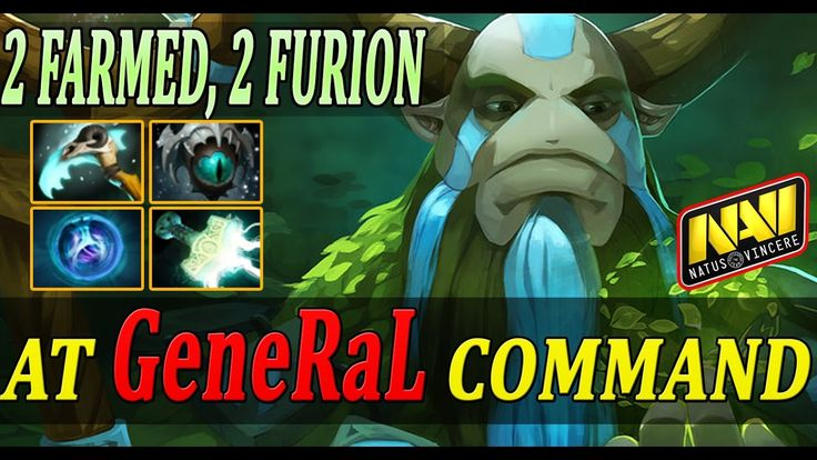 2 Farmed, 2 Furion | NaVi.GeneraL plays Nature's Prophet Offlane | A rea...