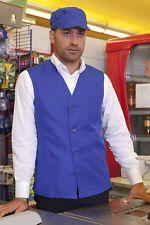Siete pronti per il cambio di stagione? Gilet Casacca Lavoro Uomo Ristorante Sala Alimentare Cassa Abbigliamento Abiti