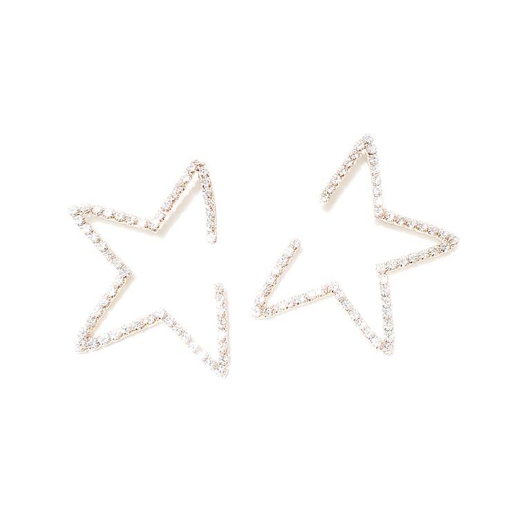 LEONE Star Diamante Earrings - Pair@ shopjessicabuurman.com