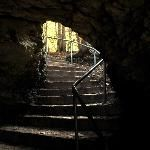 A hole in the Rock Elora Gorge walking trails Elora Ontario