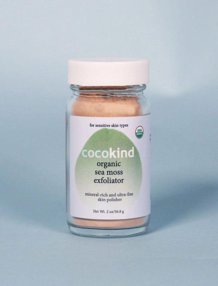 Cocokind sea moss exfoliatorcan also be found on amazon
