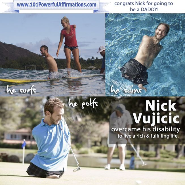 1000+ Ideas About Nick Vujicic On Pinterest