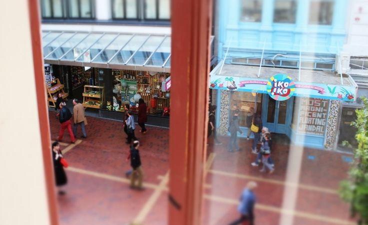 Cuba St Mall, Wellington