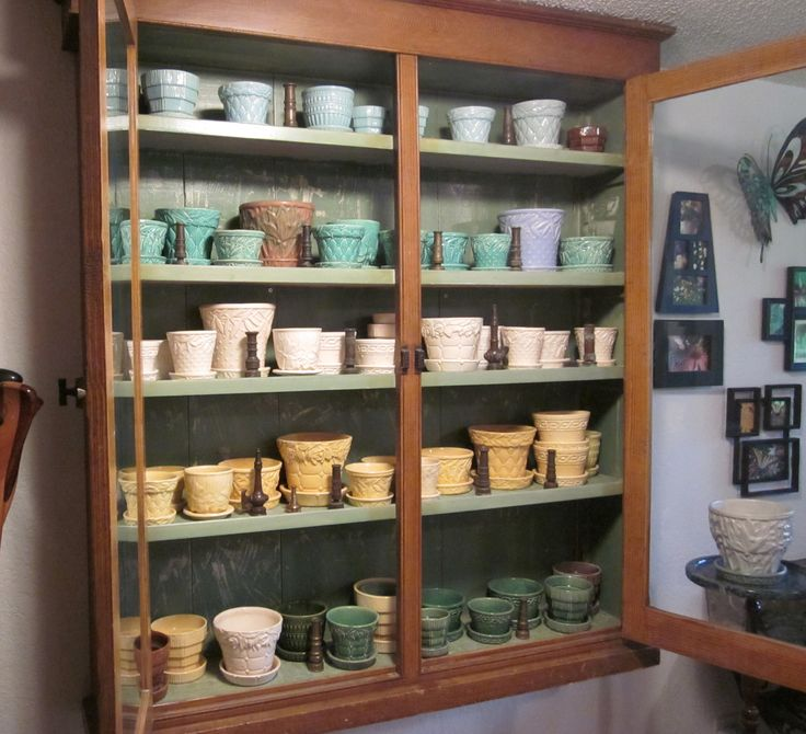My McCoy pottery collection.