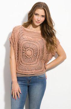 love the crochet design