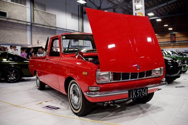 1967-1973 Mazda Familia 1200 Pickup