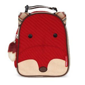 Skip Hop Zoo Lunchie Insulated Lunch Bag, Fox (at Amazon) <- for kids? I want one for me!