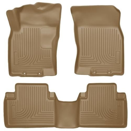 98673 Husky Liners WeatherBeater Front-2nd Seat Floor Liners 2014-2014 Nissan Rogue