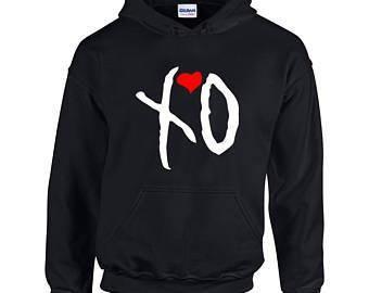 THE WEEKEND xo hoodie