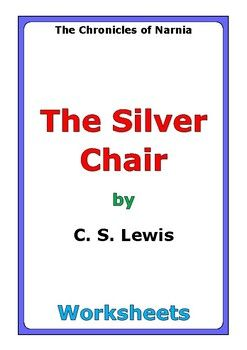 "This is a 53-page set of worksheets for the story ""The Silver Chair"" by C. S. Lewis. This also includes a 4-page story test. For each set of two chapters (C1-C2, C3-C4, etc...), there are two worksheets: * comprehension questions * vocabulary and story analysis"
