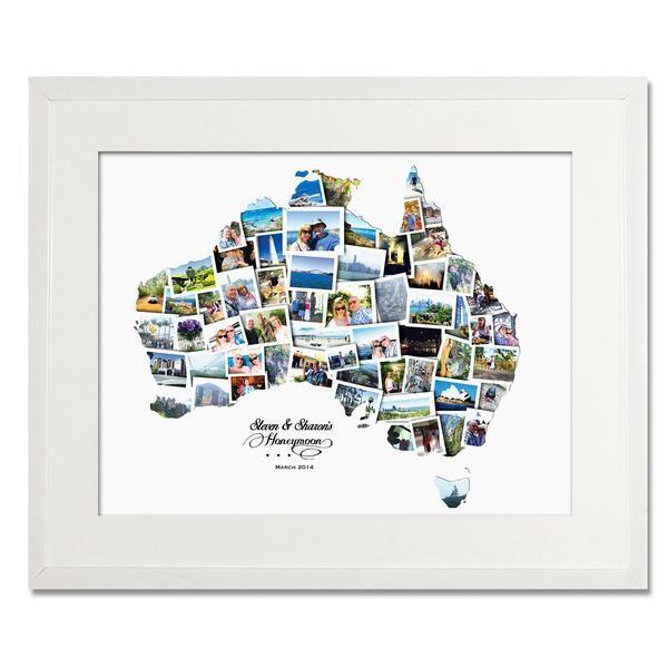 Australia Wedding, Honeymoon & Anniversary Collage - Treasure on the Wall - 1