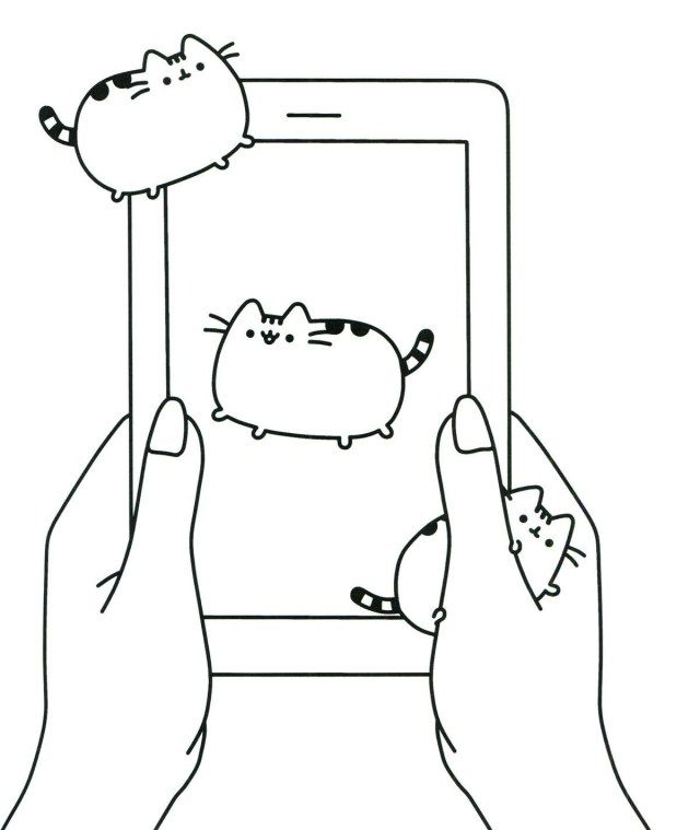 Brilliant Photo Of Nyan Cat Coloring Pages Pusheen Coloring