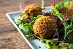 Falafels un grand classique de la cuisine juive vegetarienne, un délice aux parfums oriental