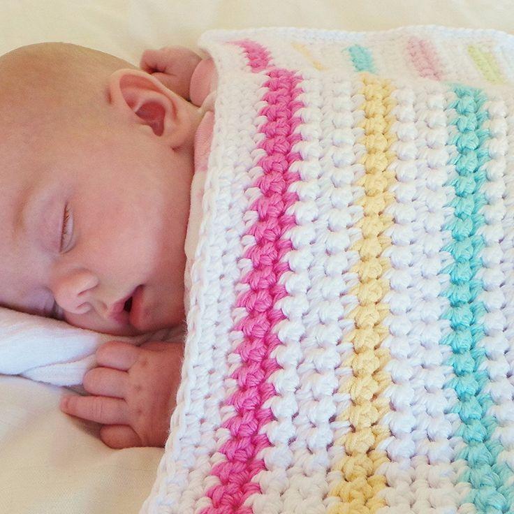 Beginners Baby Blanket Pattern