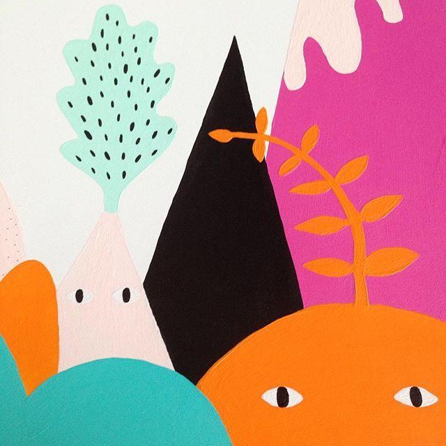 En närbild på vår målning som vi har gjort åt @cleverheating. Nu är den klar och…