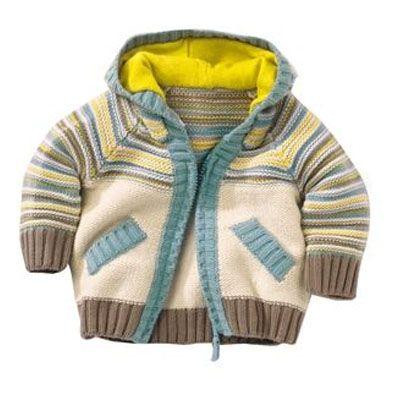 Descriere: Cardigan tricotat cu dungi,100% bumbac