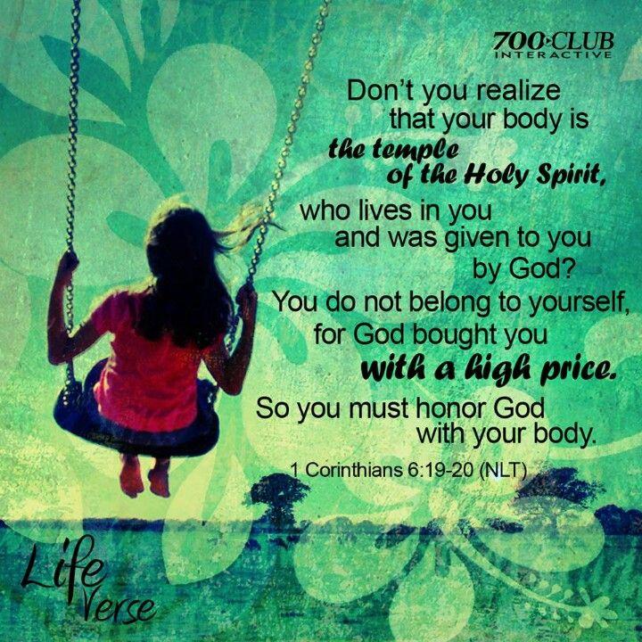 1 Corinthians 6:19-20