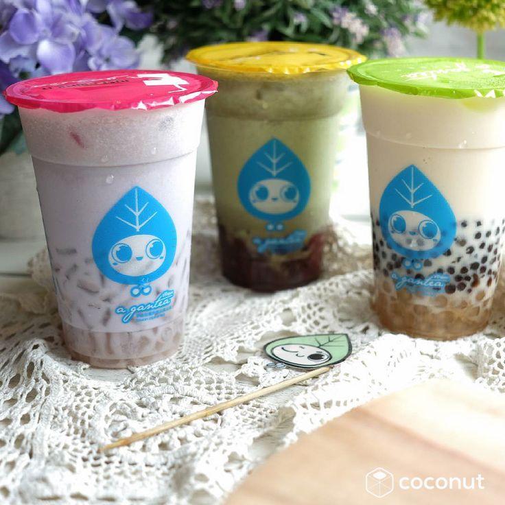 Our favorite bubble teas: @agantea_indo!  #coconutrewards #agantea  by @agantea_indo