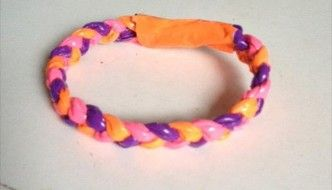 This site had a lot of great tutorials on duct tape jewelry. I just gave them the link on their take home instructions.  Duct Tape Jewelry | 101 Duct Tape Crafts