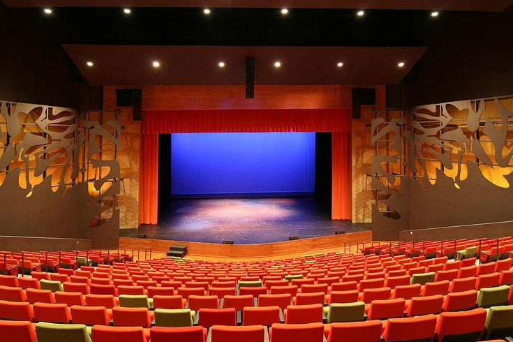 Image gallery proscenium stage for Burnsville theater