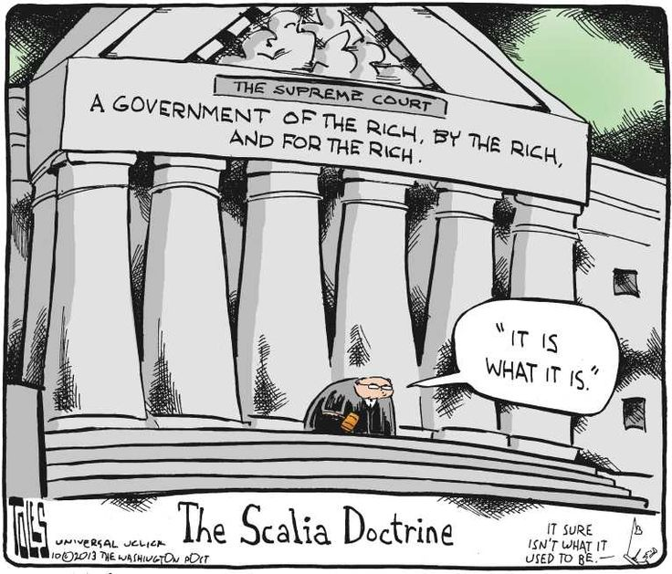 The Scalia doctrine.  It's DANGEROUS, people!