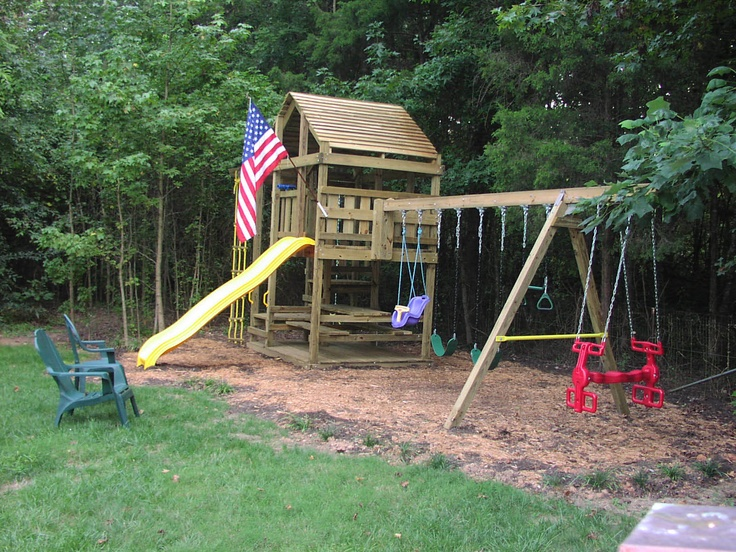 build a playset from scratch woodworking projects plans