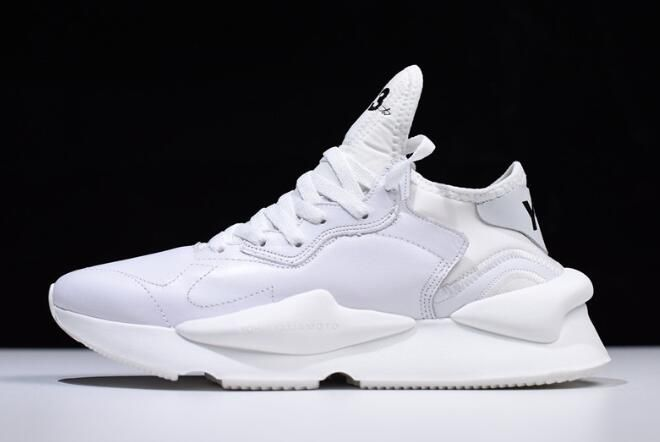 "c1690c3174ab7 2018 Mens and Womens adidas Y-3 Kaiwa ""Triple White"" QS3180 Shoes – New  Yeezy 2018"