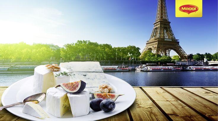 French cheese selection // Selectie de branzeturi frantuzesti   Afla si mai multe retete delicioase aici: https://www.maggi.ro/retete